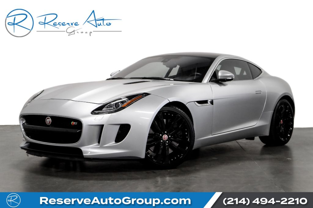 Pre-Owned 2017 Jaguar F-TYPE S S Navigation w/ Back Up Camera Premium PKG Remote Start