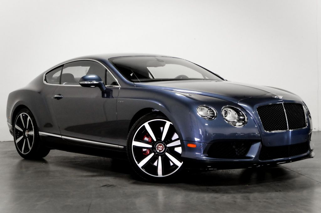 Pre-Owned 2015 Bentley Continental GT V8 S Mulliner Massage Seats Heat/Cool Sports Exhaust Carbon Fibre Panels Nav w/ Premium sound