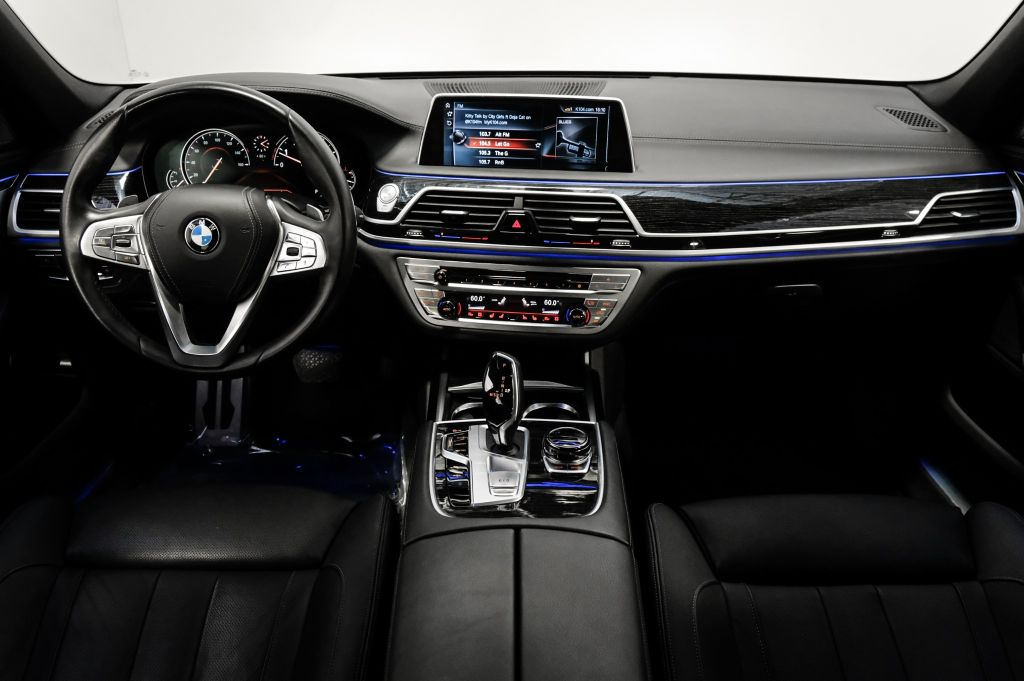 Pre-Owned 2017 BMW 7 Series 740i M Sport PKG Executive PKG Pano Sky Lounge LED Roof Hands-Free Liftgate Heated Front Seats Satellite Radio w/ Nav