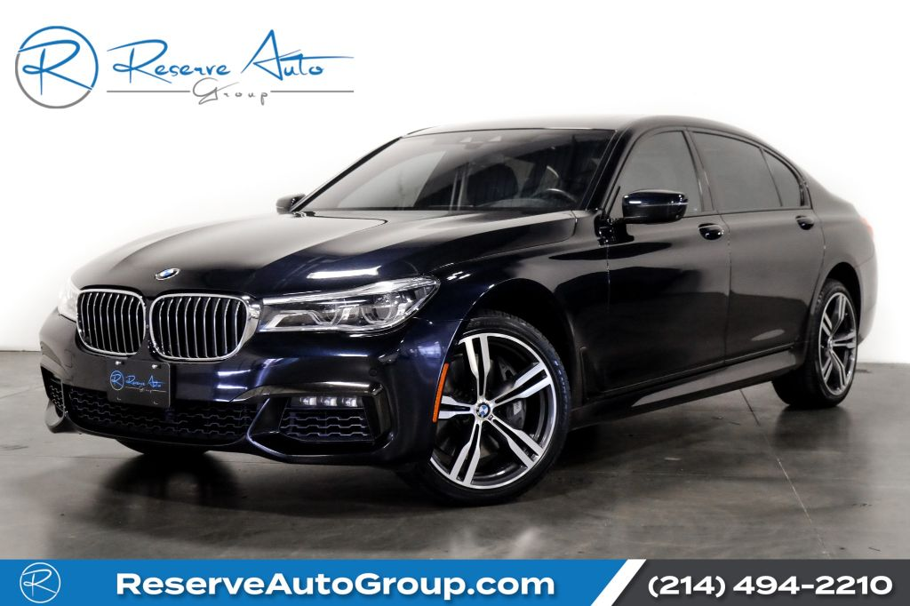 Pre-Owned 2016 BMW 7 Series 750i M-Sport Navigation Double Moon roof Dual climate control